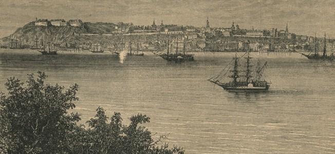 Quebec vue de Levis