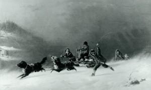 course hiver tempete