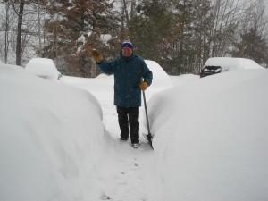 raymond dans la neige