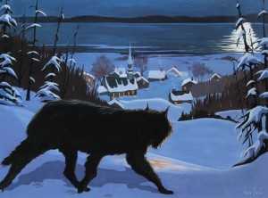 le loup garou de kamouraska