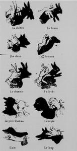 Les ombres des mains