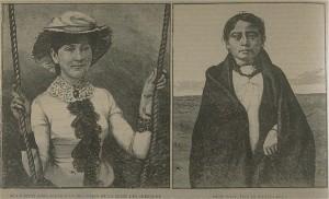 indienne cherokee et fils de sitting bull