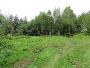 ancien emplacement de la grange
