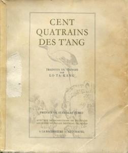 cent quatrains des tang