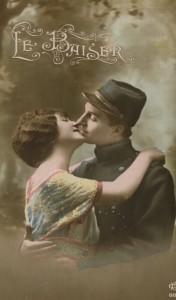 Le baiser soldat