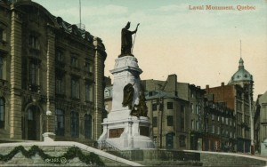 Quebec, monument Laval