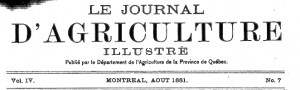 journal dagriculture