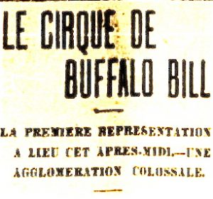 Buffalo bill a montreal