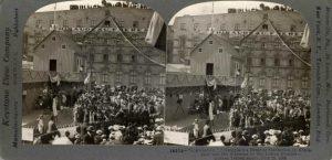 reconstitution de lAbitation en 1908