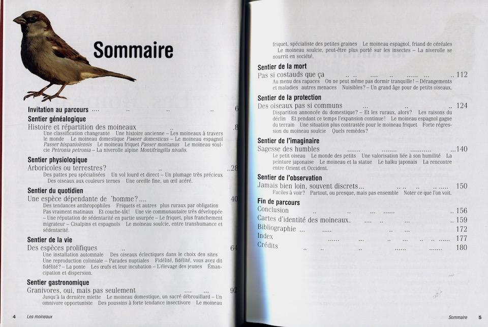Enfin le grand livre sur le moineau domestique les quatre saisons - Comment effrayer les moineaux ...