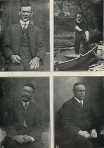 Quatre vieux chanteurs quebecois