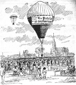 ascension en ballon
