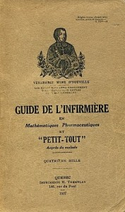 guide de linfirmiere 1927