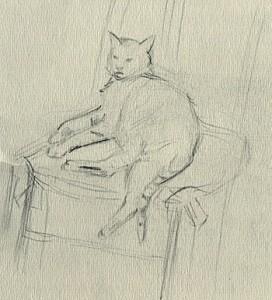 le chat de massicotte