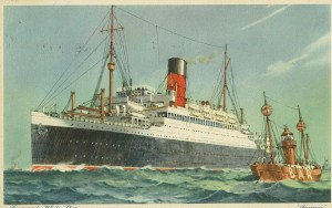 white star cunard