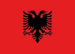 drapeau de lalbanie
