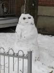 bonhomme de neige trois