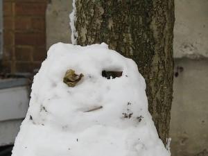 bonhomme de neige un