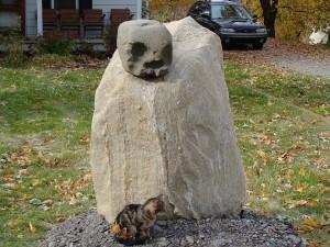 le chat et le fantome
