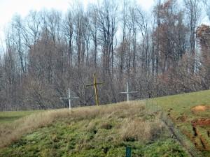 trio de croix aux USA