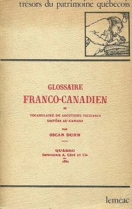 dunn glossaire franco canadien
