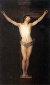 christ en croix goya musee prado