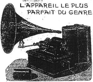 gramophone phonographe deux