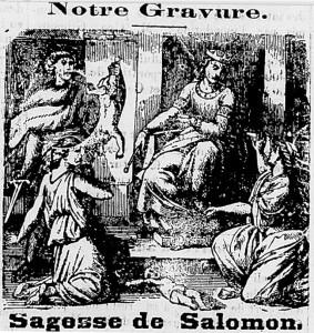 salomon et les deux femmes