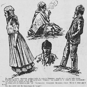 bohemiens du campement de lachine