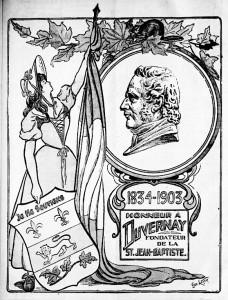 hommage a ludger duvernay La Patrie 20 juin 1903
