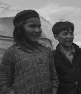 deux enfants montagnais