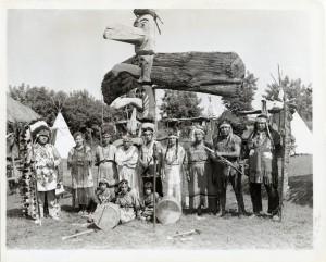 amerindiens de caughnawaga