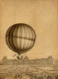 ballon aout 1783