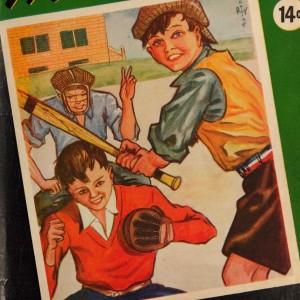 jeunes jouant au baseball