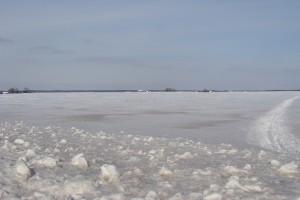 la plaine en hiver