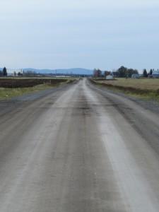 Route Moreau avant la pluie