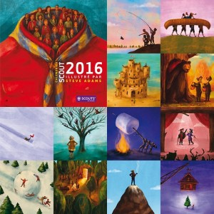 calendrier scouts 2016