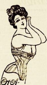 femme en corset