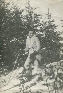 ma mere en ski a 20 ans