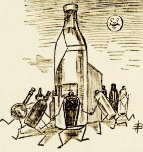 Celebration de la bouteille