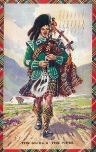 Cornemusier ecossais couleur