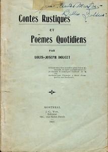contes rustiques et poemes quotidiens