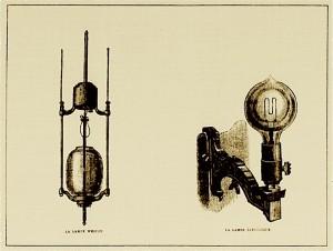 deux sortes de lampe