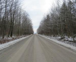 Route Moreau, debut decembre