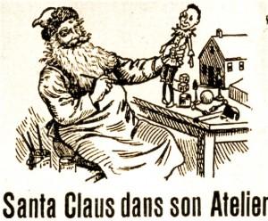 Santa dans son atelier (La Patrie, 4 dec. 1905)