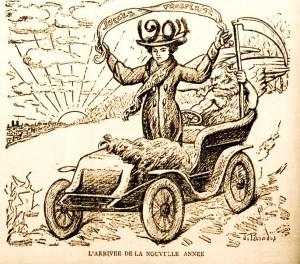 arrivee de la nouvelle annee 1903