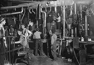 travail enfant usine manufacture