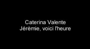 Caterina Valente un