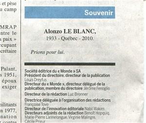 Alonzo Le Blanc