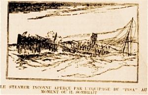 un steamer disparait